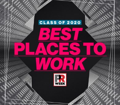 Peppercomm Named to PRWeek's Best Places to Work 2020